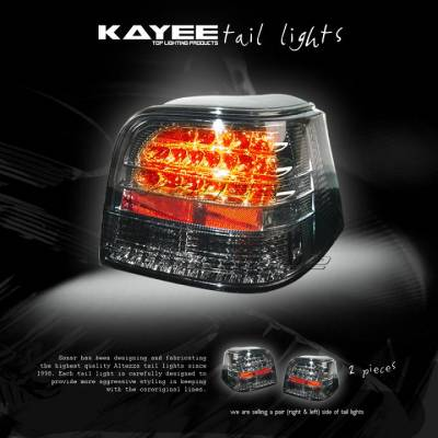 Headlights & Tail Lights - Led Tail Lights - Custom - Smoked LED Taillights