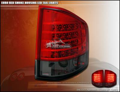 Headlights & Tail Lights - LED Tail Lights - Custom - Red Smoke LED Altezza Taillights