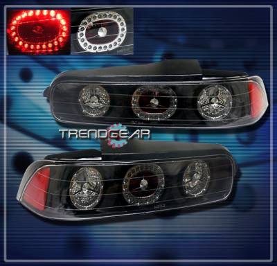 Headlights & Tail Lights - LED Tail Lights - Custom - JDM Black LED Taillights