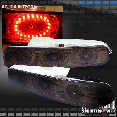 Headlights & Tail Lights - LED Tail Lights - Custom - Smoke LED Taillights