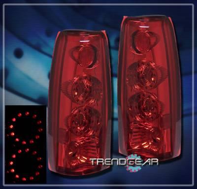 Headlights & Tail Lights - Led Tail Lights - Custom - Red  LED Taillights