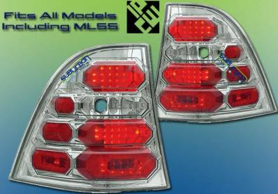 Headlights & Tail Lights - Led Tail Lights - Custom - Crystal Clear Altezza LED Taillights