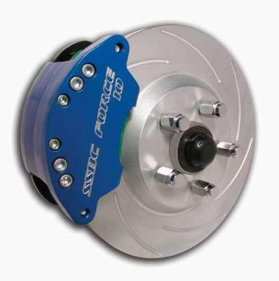 Brakes - Custom Brake Kits - SSBC - SSBC Disc Brake Kit with Force 10 Super-Twin 2-Piston Aluminum Calipers & 13 Inch Rotors - Front - A112-9