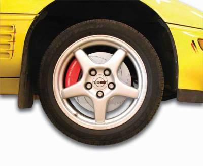 Brakes - Custom Brake Kits - SSBC - SSBC Disc Brake Kit with Force 10 Tri-Power 3-Piston Aluminum Calipers & 13 Inch Rotors - Front - A113-12