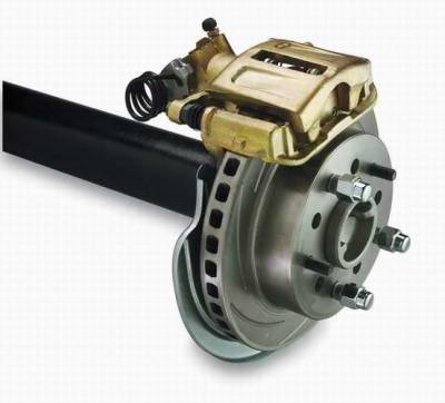 Brakes - Custom Brake Kits - SSBC - SSBC Drum to Disc Brake Conversion Kit  - Rear - A117-1