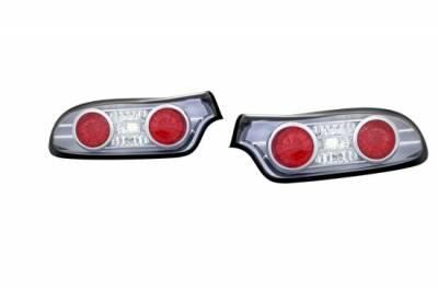 Headlights & Tail Lights - LED Tail Lights - Custom - Black Chrome LED Taillights
