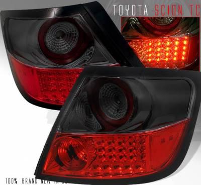 Headlights & Tail Lights - LED Tail Lights - Custom - Red Smoke LED Taillights