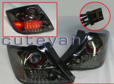 Headlights & Tail Lights - LED Tail Lights - Custom - Black Smoke Altezza LED Taillights