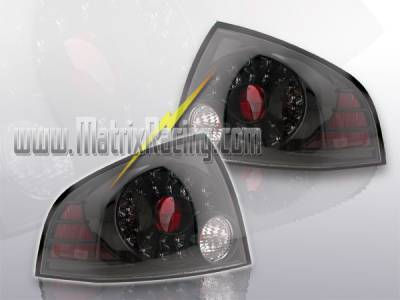 Headlights & Tail Lights - Led Tail Lights - Custom - Black Housing LED  Taillights