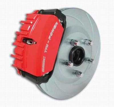 Brakes - Custom Brake Kits - SSBC - SSBC Disc Brake Kit with Force 10 Tri-Power 3-Piston Aluminum Calipers & 13 Inch Rotors - Front - A123-15