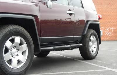 Suv Truck Accessories - Running Boards - Aries - Toyota FJ Cruiser Aries Sidebars - 3 Inch