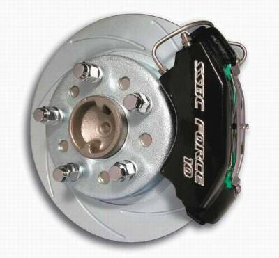 Brakes - Custom Brake Kits - SSBC - SSBC Disc Brake Conversion Kit for GM 10 & 12 Bolt Rear Ends with Non-Staggered Shocks & C-Clip or Non C-Clip Axles - Rear - A125-19