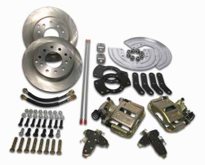 Brakes - Custom Brake Kits - SSBC - SSBC Drum to Disc Brake Conversion Kit  - Rear - A126-1