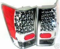 Headlights & Tail Lights - Led Tail Lights - Custom - Titan Chrome LED Taillights