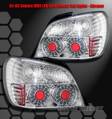 Headlights & Tail Lights - LED Tail Lights - Custom - Chrome Altezza LED Taillights