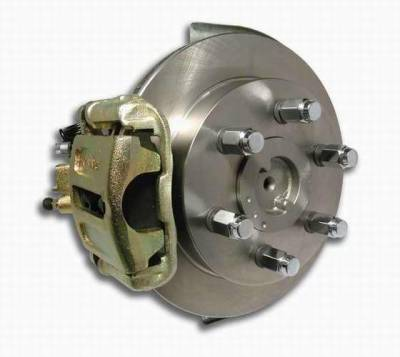 Brakes - Custom Brake Kits - SSBC - SSBC Drum to Disc Brake Conversion Kit for Vehicles with 11 Inch Drum Brakes  - Rear - A126-4