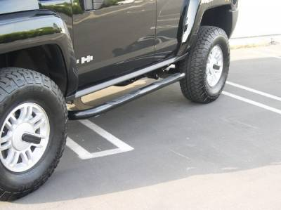 Suv Truck Accessories - Running Boards - Aries - Hummer H3 Aries Sidebars - 3 Inch