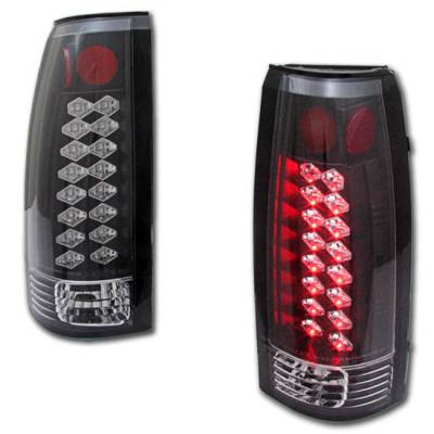 Headlights & Tail Lights - LED Tail Lights - Custom - Black Altezza LED Taillights