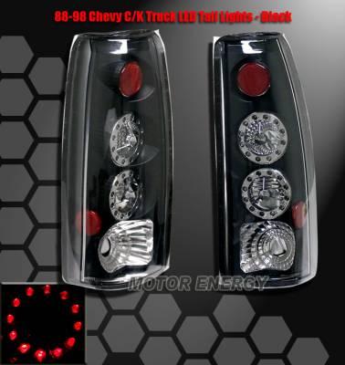 Headlights & Tail Lights - Led Tail Lights - Custom - Black LED Taillights