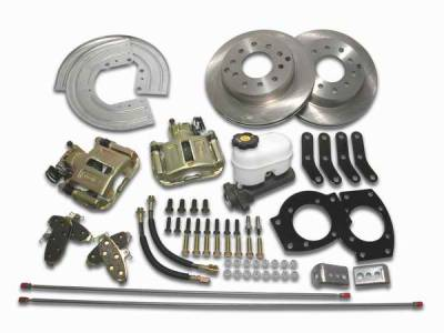 Brakes - Custom Brake Kits - SSBC - SSBC Drum to Disc Brake Conversion Kit for Vehicles with 11 Inch Drum Brakes  - Rear - A126-5
