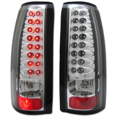 Headlights & Tail Lights - Led Tail Lights - Custom - Chrome Altezza LED Taillights