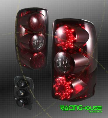 Headlights & Tail Lights - Led Tail Lights - Custom - Euro Red LED Taillights
