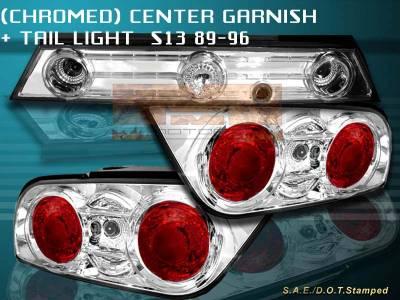 Headlights & Tail Lights - Tail Lights - Custom - Chrome Clear Taillights