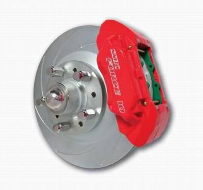 Brakes - Custom Brake Kits - SSBC - SSBC Disc Brake Kit with Force 10 Extreme 4-Piston Aluminum Calipers & 13 Inch Rotors - Front - A129-20