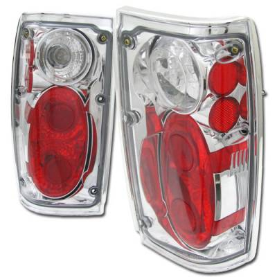 Headlights & Tail Lights - Tail Lights - Custom - JDM Chrome Taillights