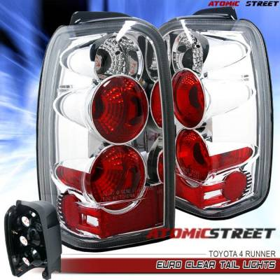 Headlights & Tail Lights - Tail Lights - Custom - Chrome Euro Clear Altezza Taillights