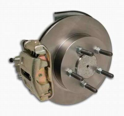 Brakes - Custom Brake Kits - SSBC - SSBC Drum to Disc Brake Conversion Kit for AMC 20 1-Piece Axles  - Rear - A130-2