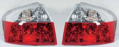 Headlights & Tail Lights - Tail Lights - Custom - Crystal Red Clear Taillights