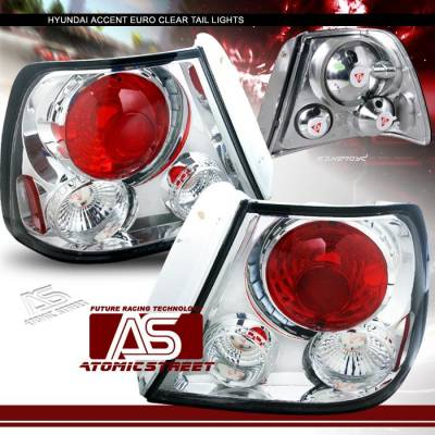 Headlights & Tail Lights - Tail Lights - Custom - JDM Chrome Altezza Taillights