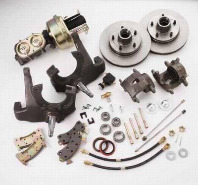 Brakes - Custom Brake Kits - SSBC - SSBC 2 Inch Drop Spindle Kit for Disc Brake Vehicles - Front - A142