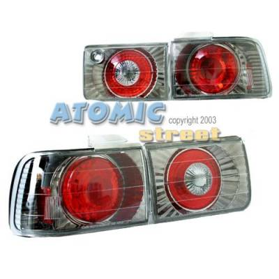 Headlights & Tail Lights - Tail Lights - Custom - Black Chrome Taillights