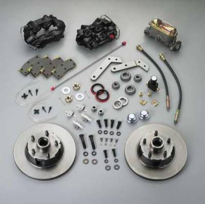 Brakes - Custom Brake Kits - SSBC - SSBC Non-Power Disc Brake Conversion Kit - Front - A152