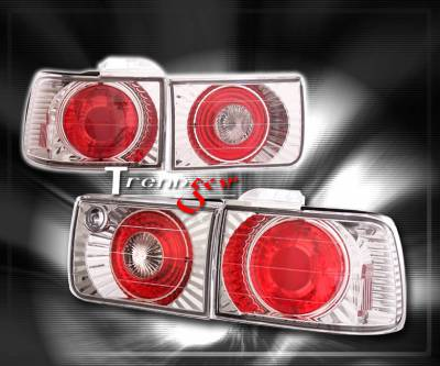 Headlights & Tail Lights - Tail Lights - Custom - Chrome Euro Clear Taillights