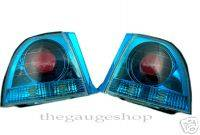 Headlights & Tail Lights - Tail Lights - Custom - Blue Euro Altezza Taillights