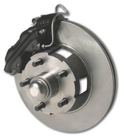Brakes - Custom Brake Kits - SSBC - SSBC Power Drum to Disc Brake Conversion Kit with 2 Piston Aluminum Calipers - Front - A154-3