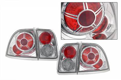 Headlights & Tail Lights - Tail Lights - Custom - Diamond Altezza Taillights