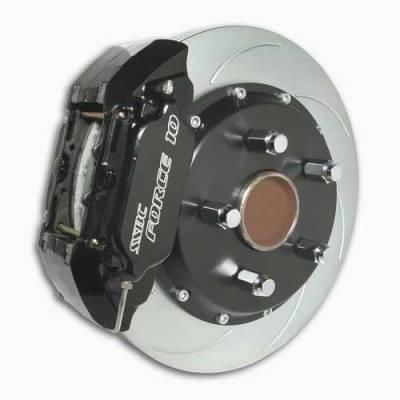 Brakes - Custom Brake Kits - SSBC - SSBC Disc Brake Kit with Force 10 Extreme 4-Piston Aluminum Calipers & 14 Inch Rotors - Front - A158-4
