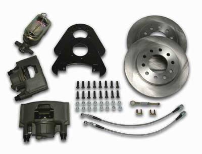 Brakes - Custom Brake Kits - SSBC - SSBC Non-Power Disc Brake Conversion Kit - Front - A159