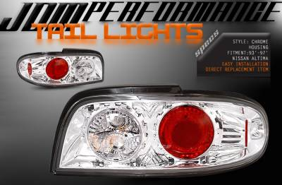 Headlights & Tail Lights - Tail Lights - Custom - Chrome Altezza Clear Taillights