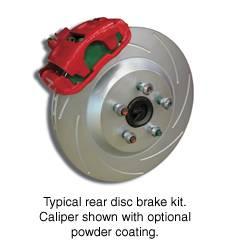 Brakes - Custom Brake Kits - SSBC - SSBC Drum to Disc Brake Conversion Kit  - Rear - A160-4