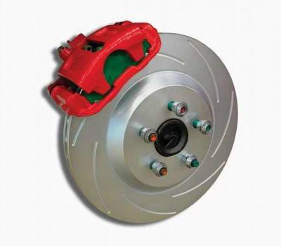 Brakes - Custom Brake Kits - SSBC - SSBC Drum to Disc Brake Conversion Kit  - Rear - A161-1