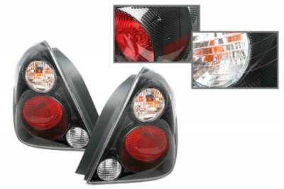 Headlights & Tail Lights - Tail Lights - Custom - Carbon Fiber Altezza Taillights