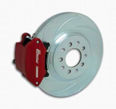 Brakes - Custom Brake Kits - SSBC - SSBC Disc Brake Kit with Force 10 Sport R1 Single-Piston Aluminum Caliper  - Rear - A162-1