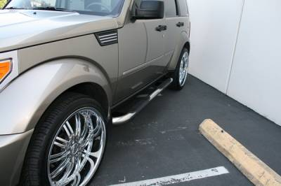 Suv Truck Accessories - Running Boards - Aries - Dodge Nitro Aries Sidebars - 3 Inch
