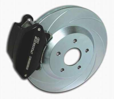 Brakes - Custom Brake Kits - SSBC - SSBC Disc Brake Kit with Force 10 Sport-Twin 2-Piston Aluminum Calipers & 12 Inch Rotors - Front - A163-8