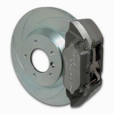 Brakes - Custom Brake Kits - SSBC - SSBC Disc Brake Kit with Force 10 Extreme 4-Piston Aluminum Calipers & 13 Inch Rotors - Front - A164